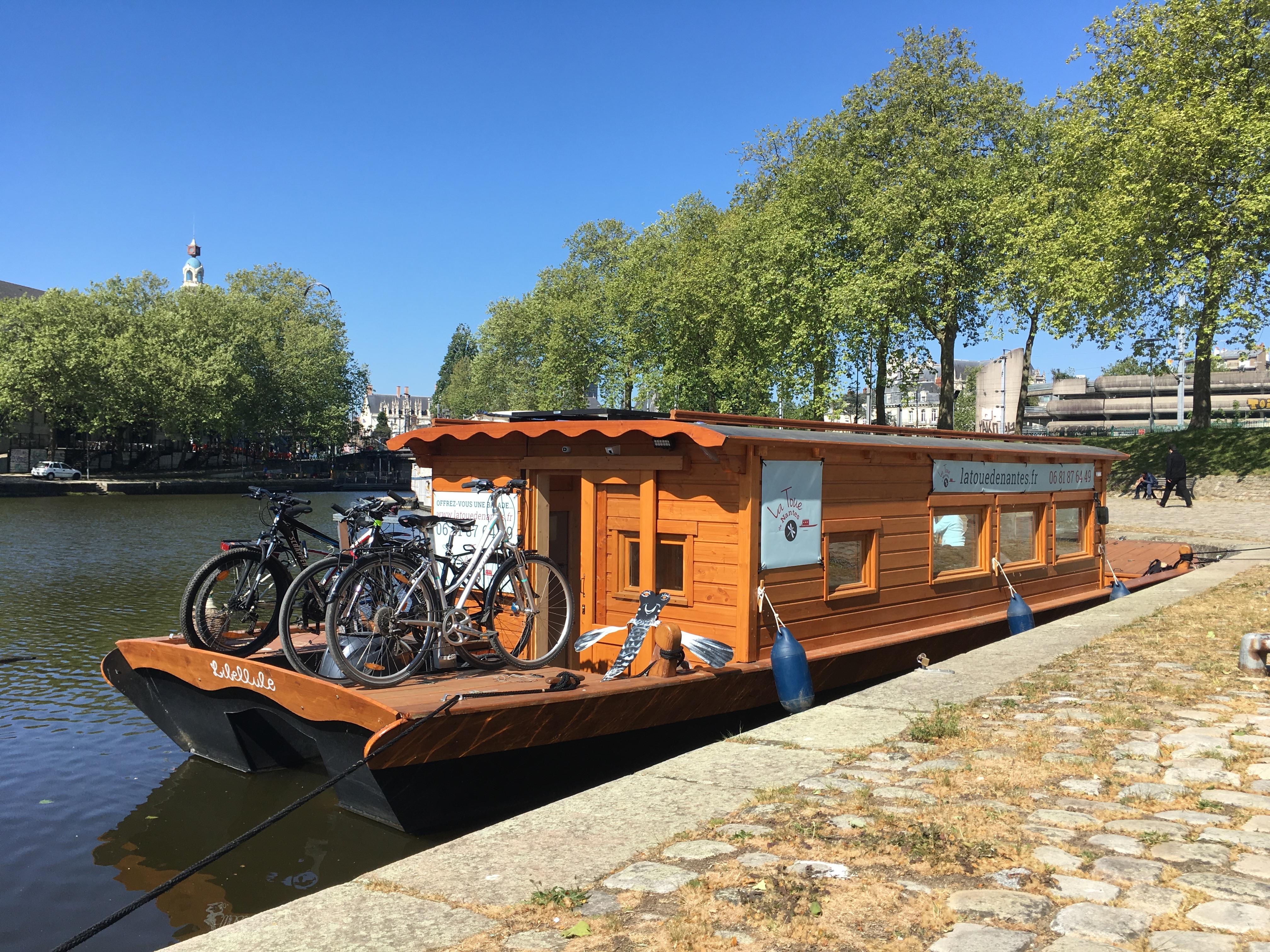 vélo à bord